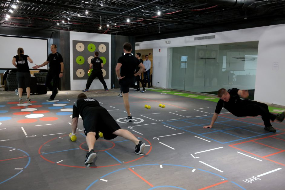 Interactive Group Fitness Class