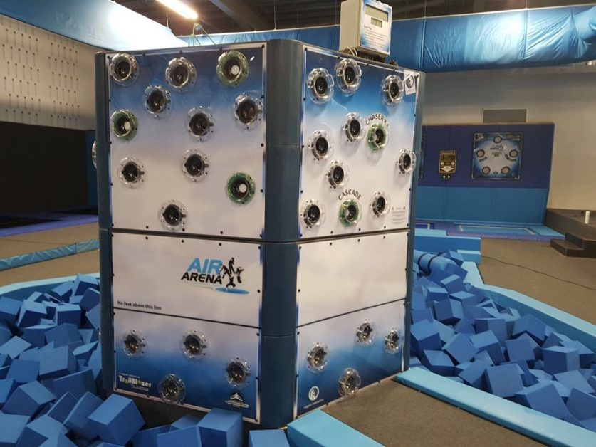 Trailblazer Interactive Climbing Wall