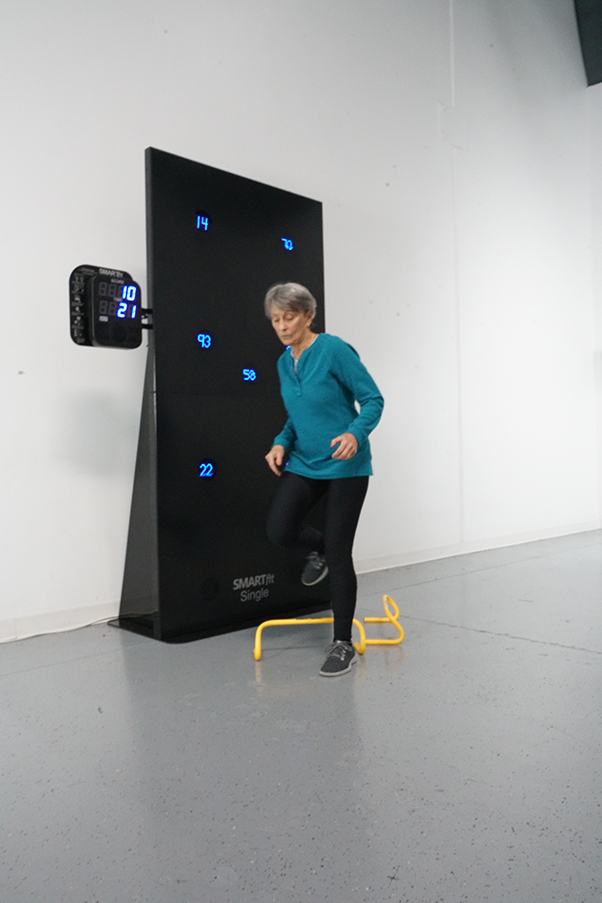 Man playing with SmartFit Mini
