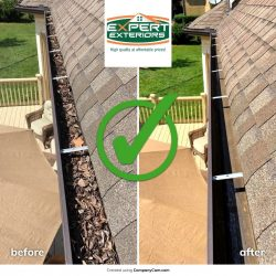 Professional gutter cleaning in Nashville