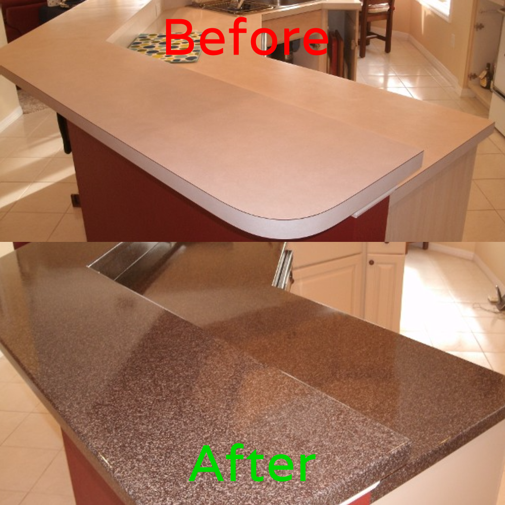 Can You Refinish A Laminate Table Top