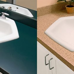 Bathroom Vanities Virginia Beach countertop refinishing chesapeake | vanity resurfacing virginia
