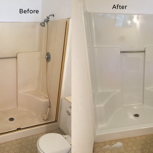 Shower Resurfacing Chesapeake | Shower Floor Tile Virginia Beach ...