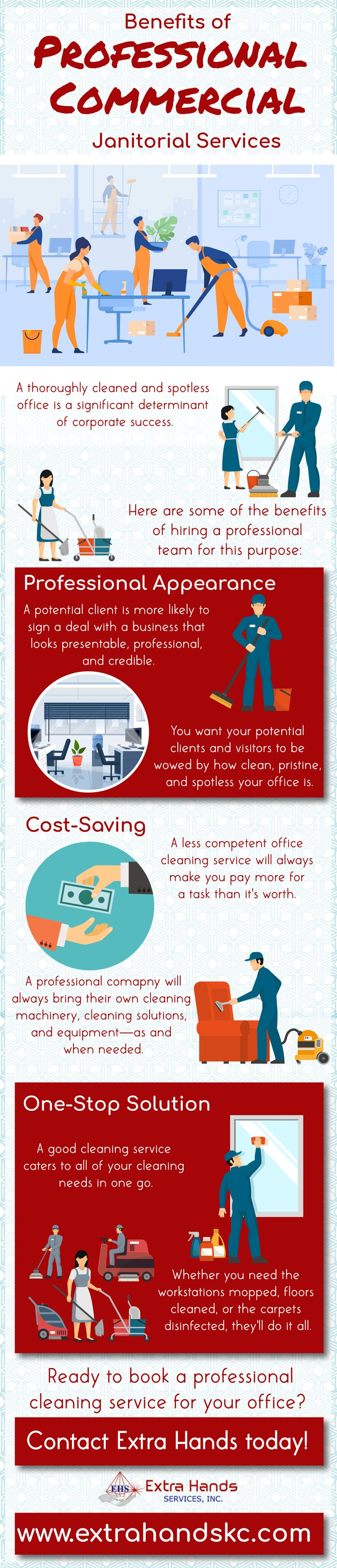 Benefits Of Professional Commercial Janitorial Services