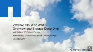 AWS, VMworld, VMware Cloud on AWS, Press Conference