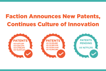 Faction Announces New patents