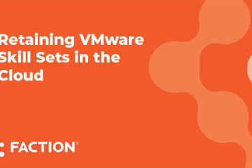 Webinar - Retain VMware skills in the cloud