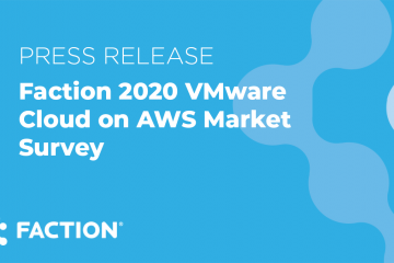 VMware Cloud on AWS Survey 2020