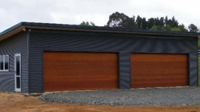Cedar Look Garage Doors Melbourne Cedar Garage Doors