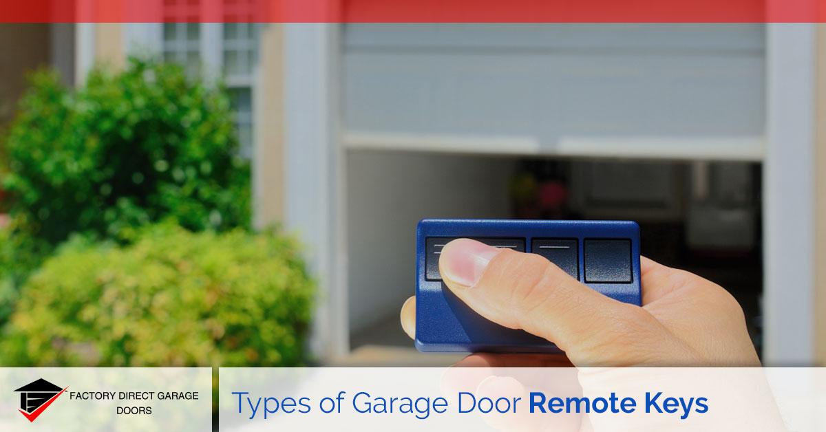 garage door remote keys