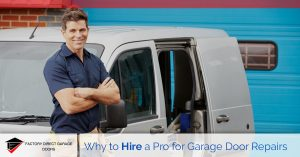 professional garage door repairs