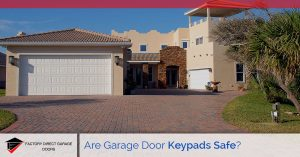garage door keypad safety