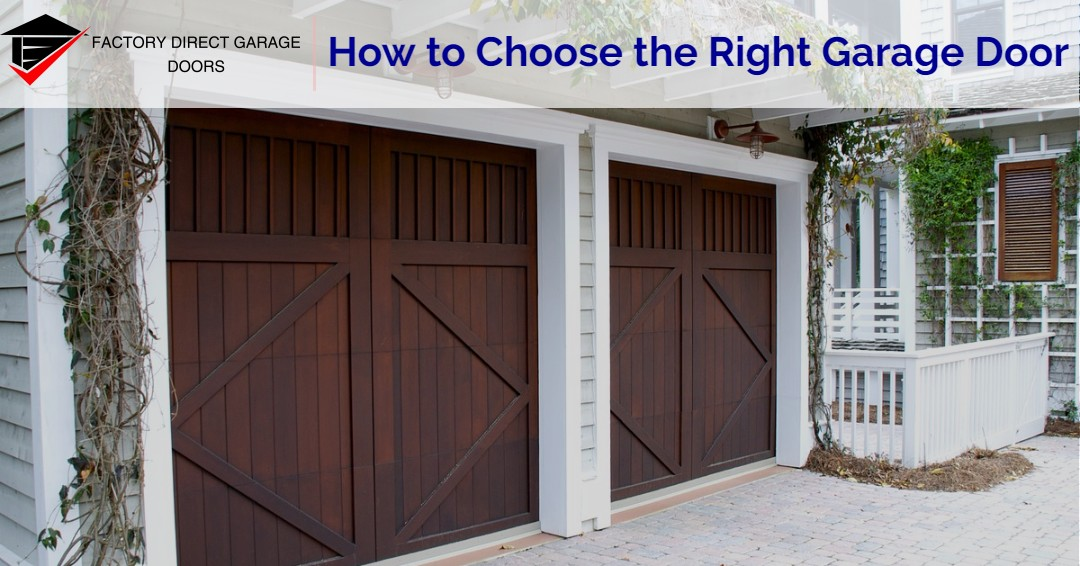 How to Choose the Right Garage Door in Melbourne