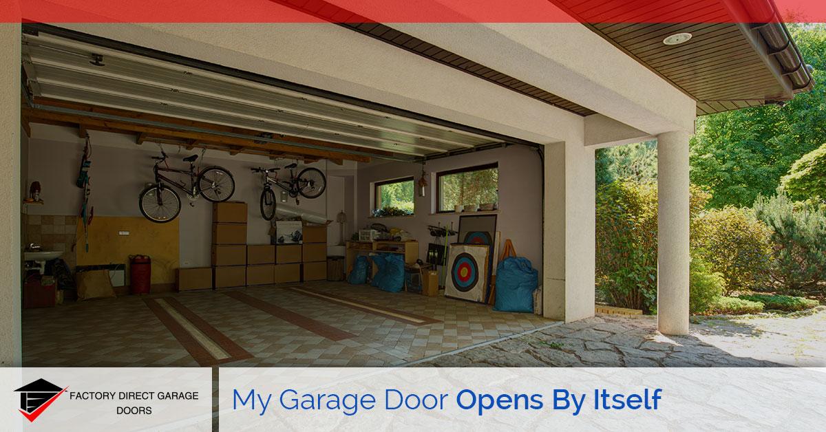 Attractive Garage Door Opens By Itself