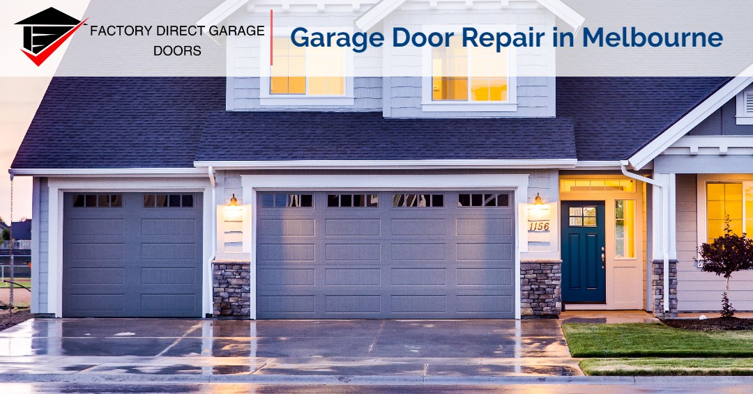 Factory Direct Garage Doors - Garage Door Repair in Melbourne