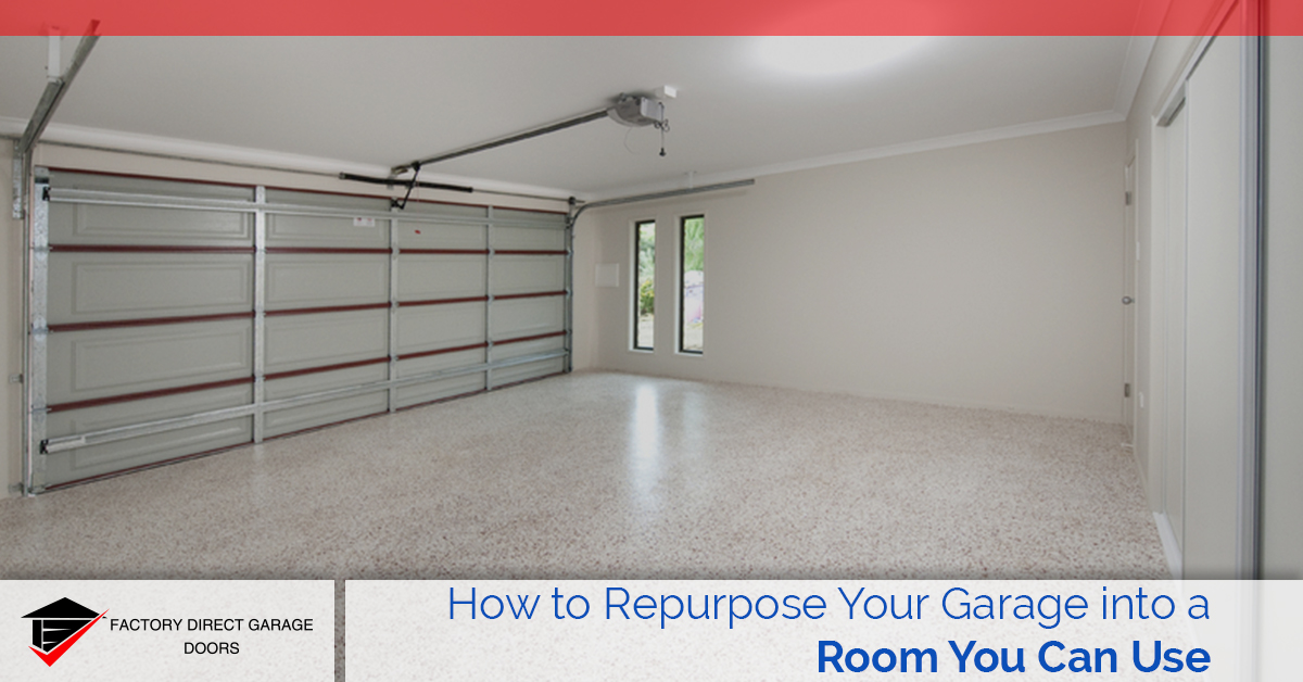 repurpose your garage
