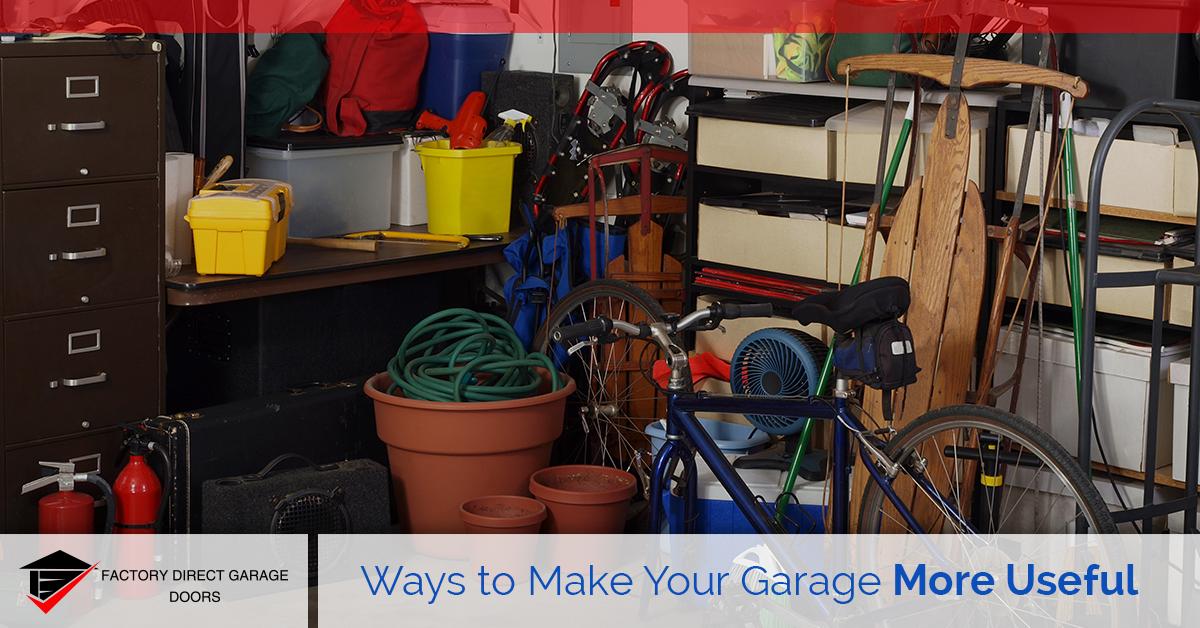 make garage more useful