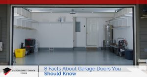 facts about garage doors