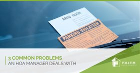 3 Common Problems HOA Managers Deal With