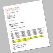 Certificate from Texas Tech University for our storm shelter company