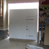 Installing a tornado safe room in a home