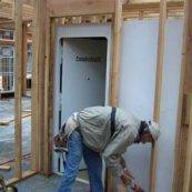 Owasso tornado shelter construction