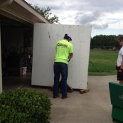 Installing a custom storm shelter in a home