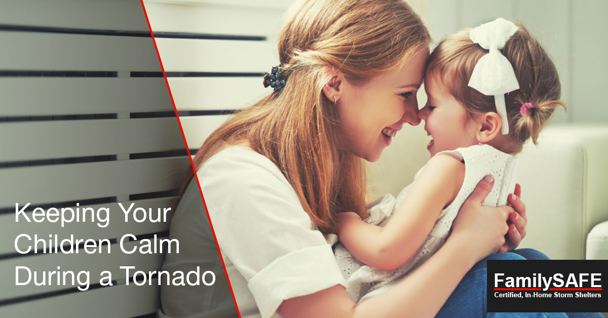 Keep your children safe with a custom tornado shelter