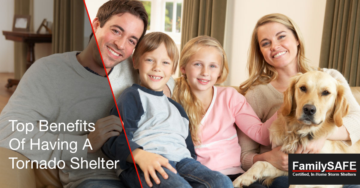 Learn about the benefits of having a custom tornado shelter