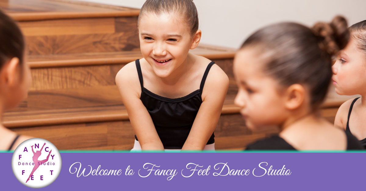 Happy dance students at Fancy Feet Dance Studio