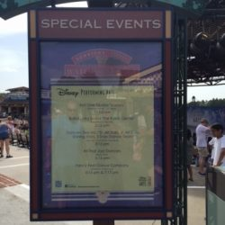 Disney performing arts special events