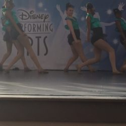 Students dancing at Disney