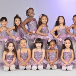 Girl's dance recital photo at Fancy Feet Dance Studio