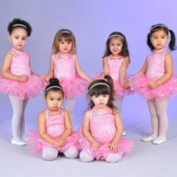 Ballet recital photo at Fancy Feet Dance Studio