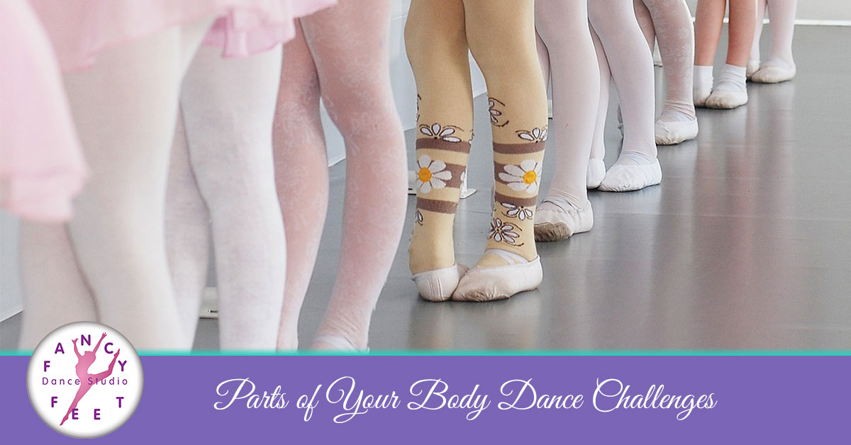 Dance Studio Bronx Body Parts Dance Challenges