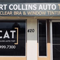 The Fort Collins Auto Tint Store Front
