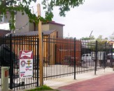 commercial steel gate tall