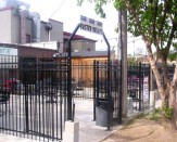 commercial steel gate