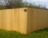 cypress wood privacy fence