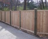 custom cedar fence