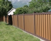 residential trex composite fencing