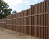commercial trex composite fence