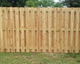 shadowbox wooden fence