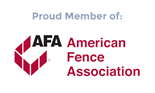 American Fence Association logo small