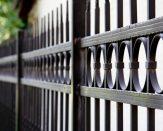 custom ornamental iron fence