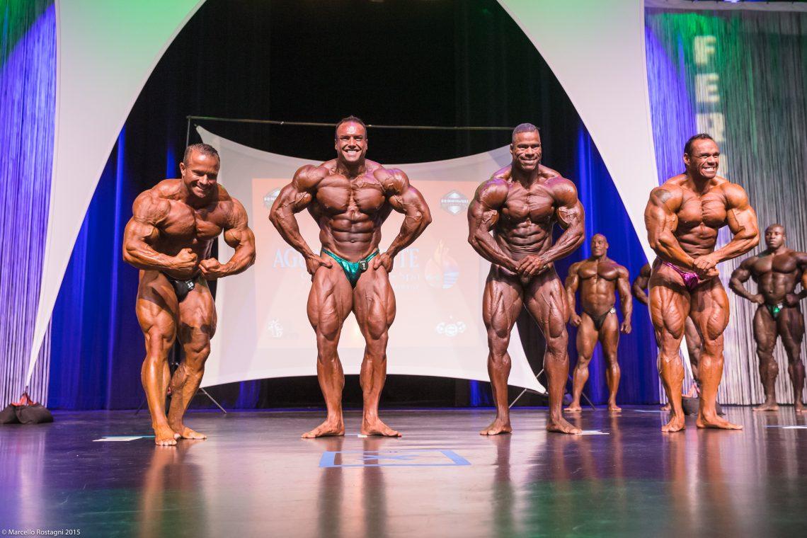 Pro Men's Bodybuilding Comparison