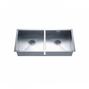 the perfect stainless steel double sink