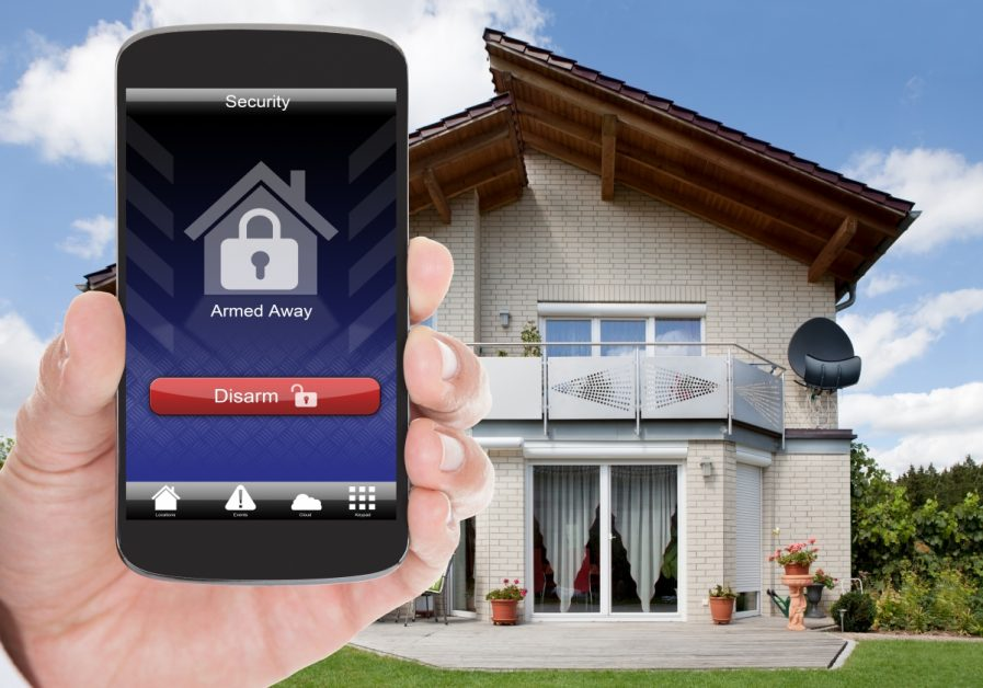 Remote Home Security App