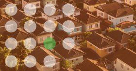 Bird's Eye View of Neighborhood