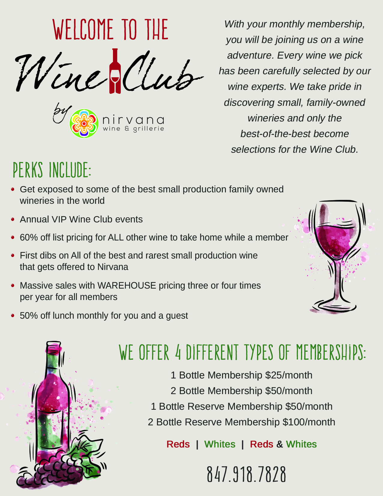 f0517e9fa7a Wine Club Vernon Hills | Wine Clubs Libertyville | Monthly Wine Club 60061  - Nirvana Wine & Grillerie